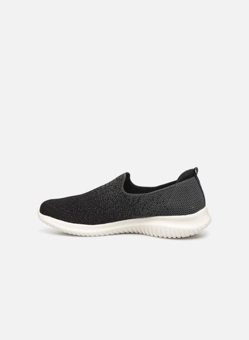 Chaussures de sport Skechers Ultra Flex Cozy-Day Noir vue face