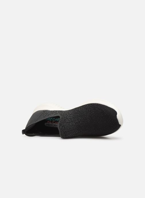 Sportschoenen Skechers Ultra Flex Cozy-Day Zwart links