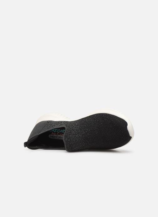 Chaussures de sport Skechers Ultra Flex Cozy-Day Noir vue gauche