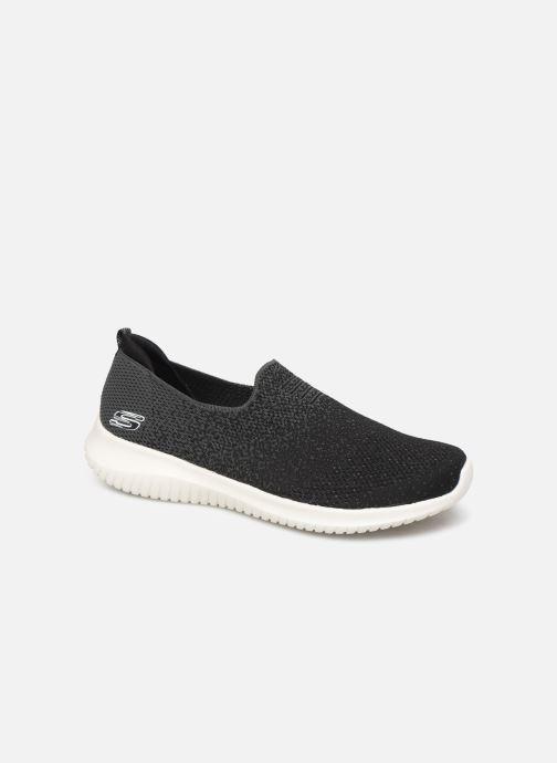 Chaussures de sport Skechers Ultra Flex Cozy-Day Noir vue détail/paire