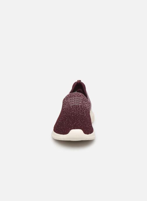 Chaussures de sport Skechers Ultra Flex Cozy-Day Violet vue portées chaussures