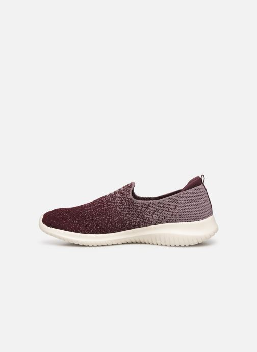 Chaussures de sport Skechers Ultra Flex Cozy-Day Violet vue face