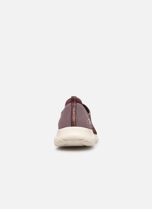 Chaussures de sport Skechers Ultra Flex Cozy-Day Violet vue droite