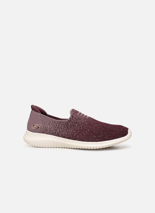 Chaussures de sport Skechers Ultra Flex Cozy-Day Violet vue derrière