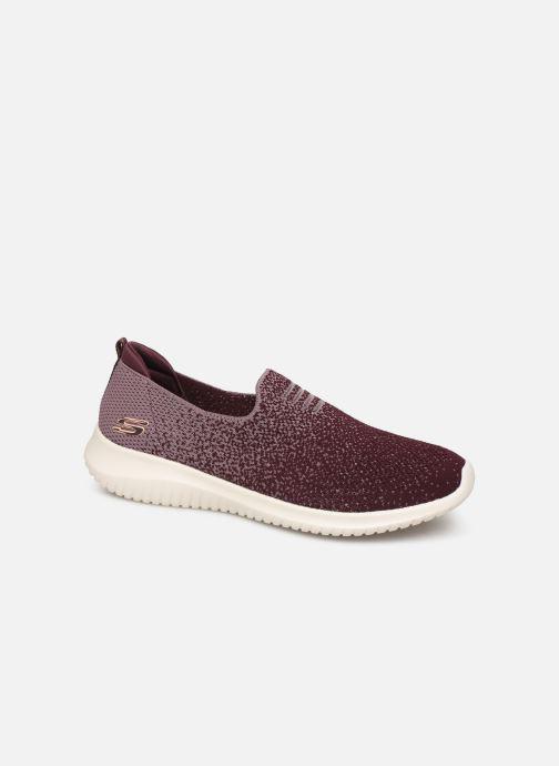 Chaussures de sport Skechers Ultra Flex Cozy-Day Violet vue détail/paire
