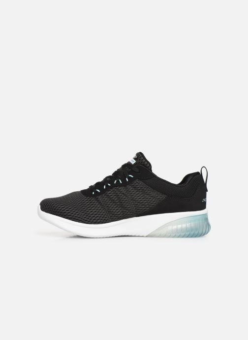 Chaussures de sport Skechers Skech-Air Ultra Flex W Noir vue face