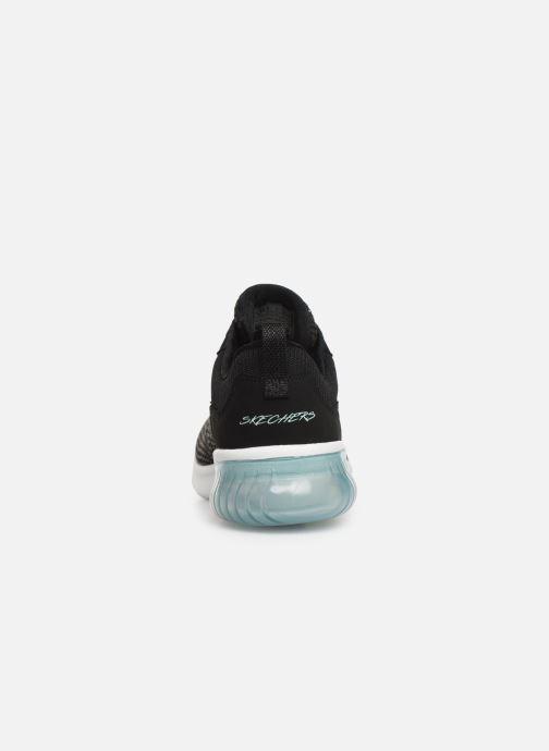 Chaussures de sport Skechers Skech-Air Ultra Flex W Noir vue droite