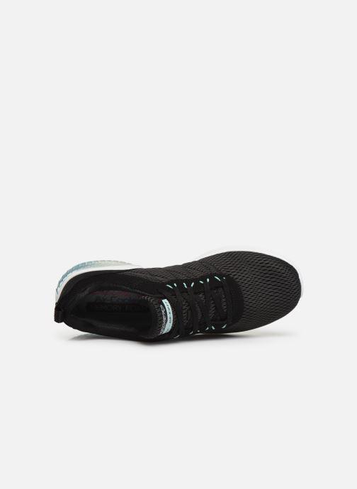 Chaussures de sport Skechers Skech-Air Ultra Flex W Noir vue gauche
