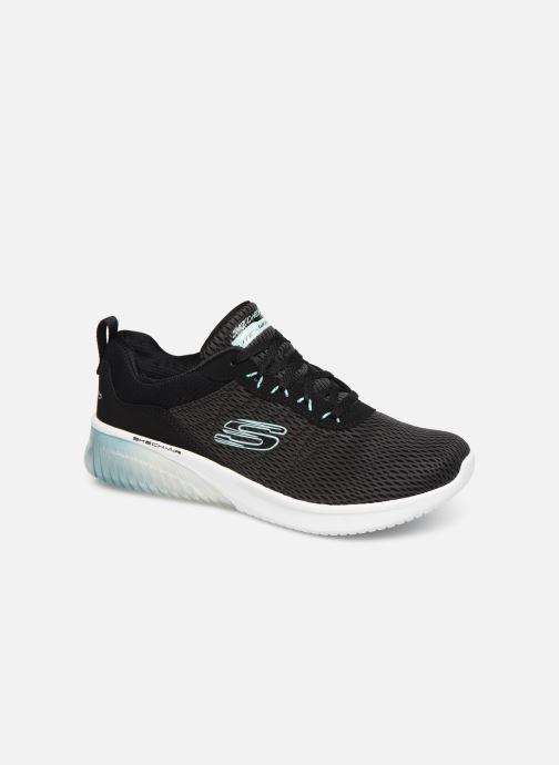 Sportssko Skechers Skech-Air Ultra Flex W Sort detaljeret billede af skoene