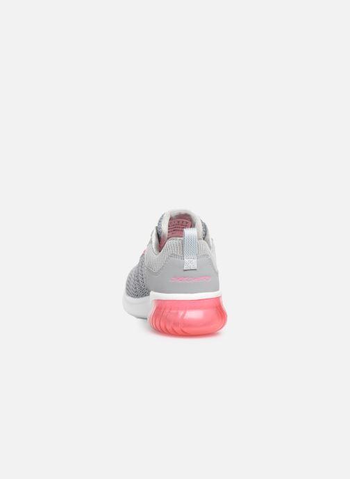 Chaussures de sport Skechers Skech-Air Ultra Flex W Gris vue droite