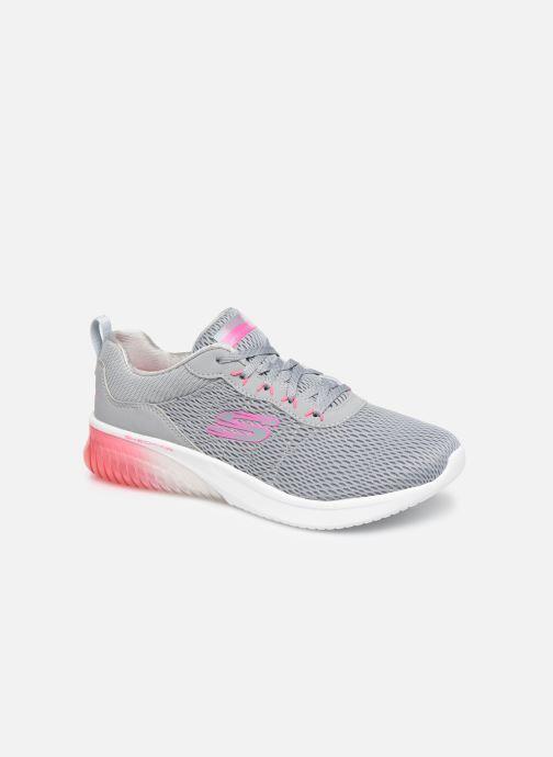 Chaussures de sport Skechers Skech-Air Ultra Flex W Gris vue détail/paire