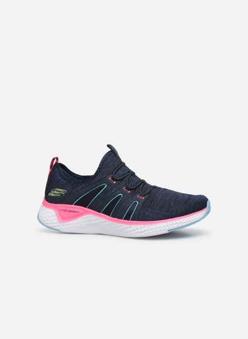 Chaussures de sport Skechers Solar Fuse Electric Pulse Bleu vue derrière