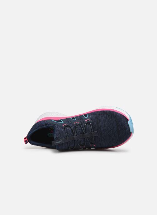 Chaussures de sport Skechers Solar Fuse Electric Pulse Bleu vue gauche