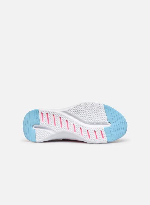 Chaussures de sport Skechers Solar Fuse Electric Pulse Bleu vue haut