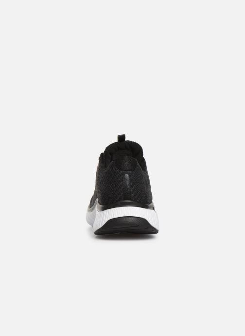 Chaussures de sport Skechers Solar Fuse Brisk Escape Noir vue droite