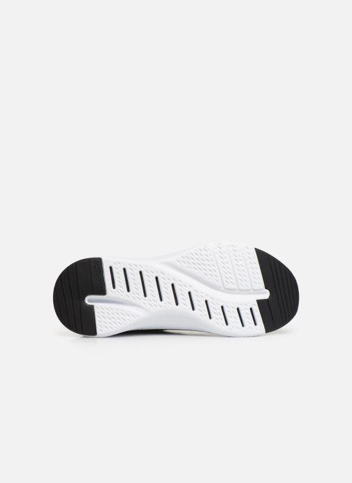 Chaussures de sport Skechers Solar Fuse Brisk Escape Noir vue haut