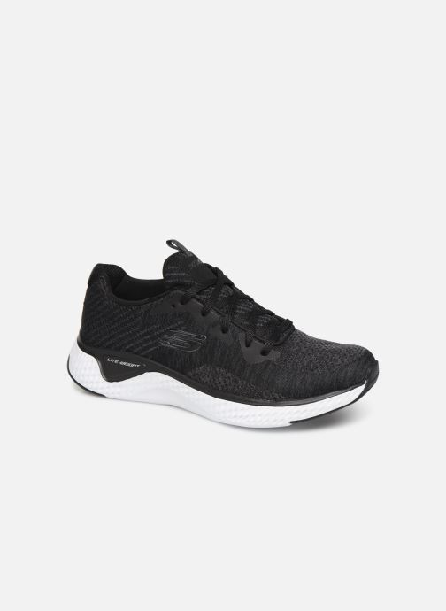 Chaussures de sport Skechers Solar Fuse Brisk Escape Noir vue détail/paire