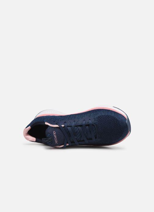 Chaussures de sport Skechers Solar Fuse Brisk Escape Bleu vue gauche