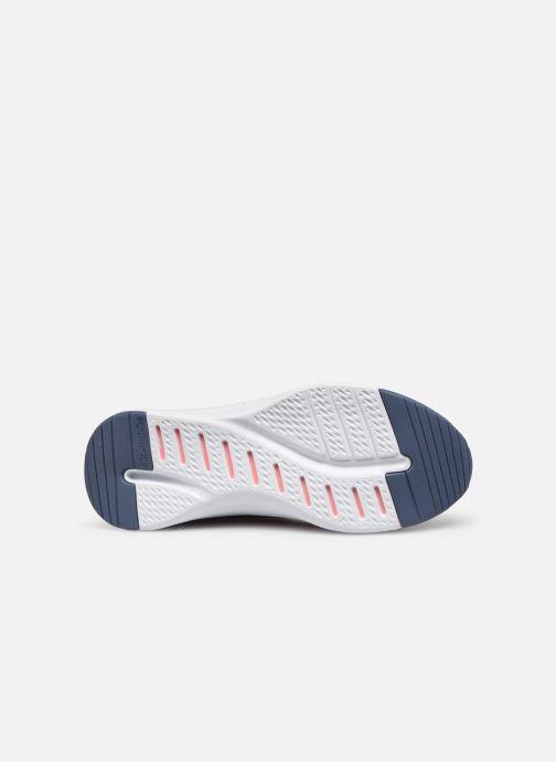 Chaussures de sport Skechers Solar Fuse Brisk Escape Bleu vue haut