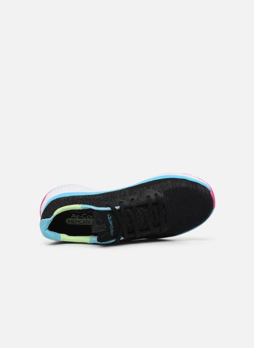 Zapatillas de deporte Skechers Solar Fuse Brisk Escape Negro vista lateral izquierda