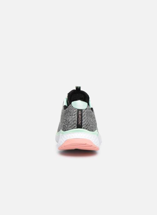 Chaussures de sport Skechers Solar Fuse Brisk Escape Gris vue droite