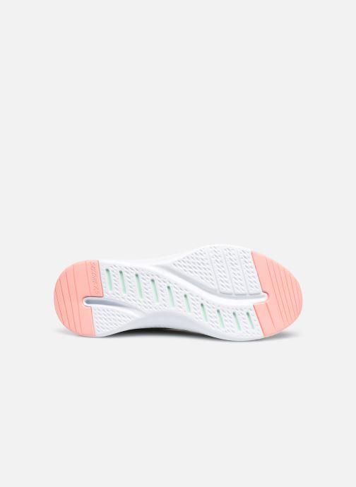 Chaussures de sport Skechers Solar Fuse Brisk Escape Gris vue haut
