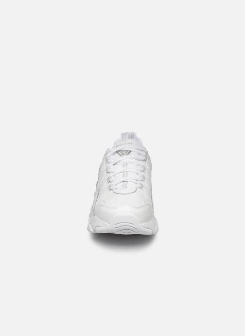 Baskets Skechers D'Lites 3.0 Proven Force Blanc vue portées chaussures