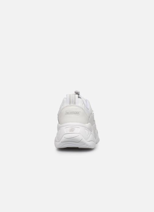 Deportivas Skechers D'Lites 3.0 Proven Force Blanco vista lateral derecha