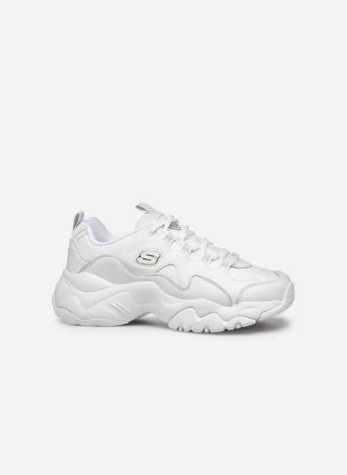 Baskets Skechers D'Lites 3.0 Proven Force Blanc vue derrière