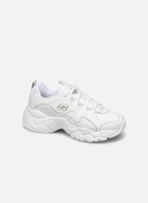 Baskets Skechers D'Lites 3.0 Proven Force Blanc vue détail/paire