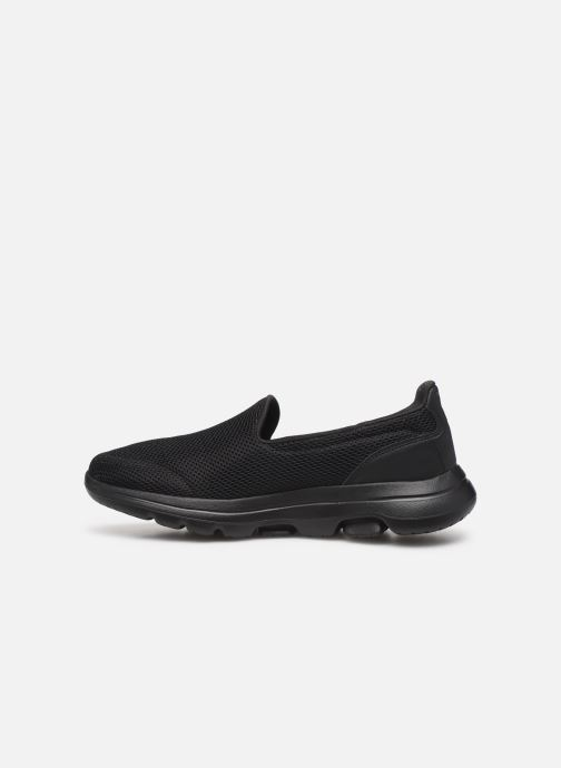 Trainers Skechers Go Walk 5 Black front view