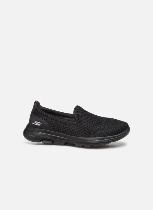 Sneaker Skechers Go Walk 5 schwarz ansicht von hinten