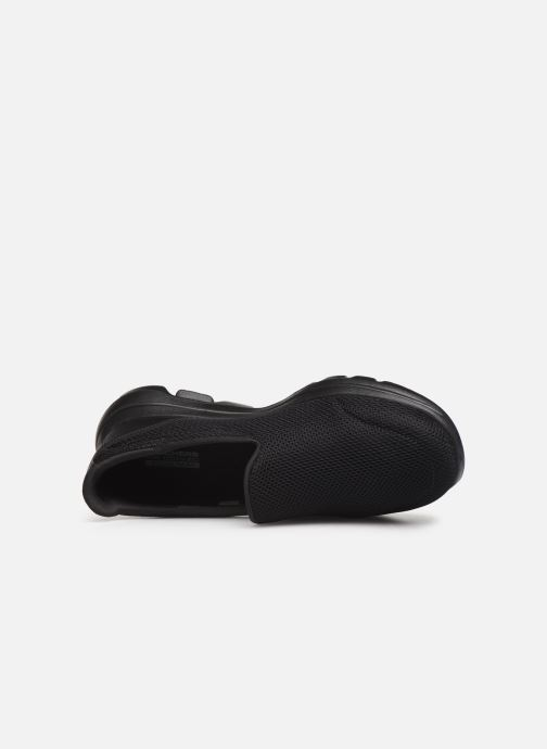 Sneakers Skechers Go Walk 5 Zwart links