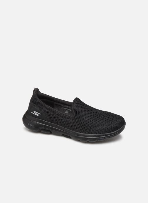 Sneakers Skechers Go Walk 5 Sort detaljeret billede af skoene
