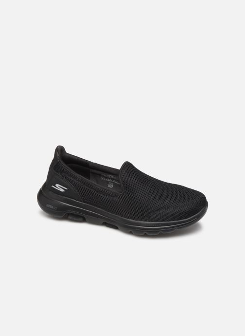 Trainers Skechers Go Walk 5 Black detailed view/ Pair view