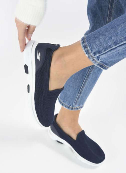 Sneakers Skechers Go Walk 5 Azzurro immagine dal basso