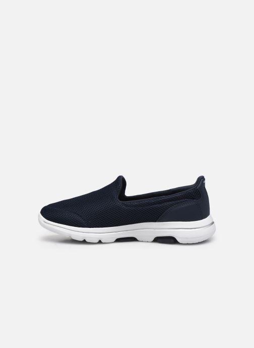 Sneakers Skechers Go Walk 5 Blå se forfra