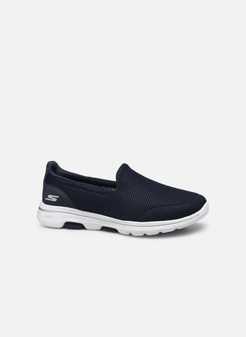 Sneakers Skechers Go Walk 5 Blå se bagfra