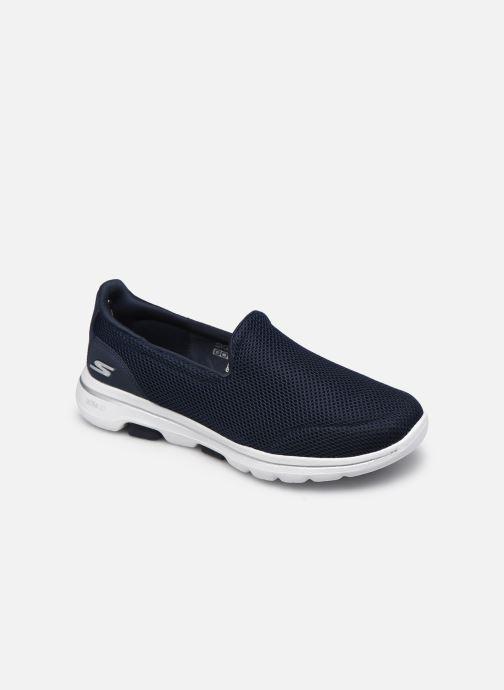 Sneakers Skechers Go Walk 5 Blå detaljeret billede af skoene