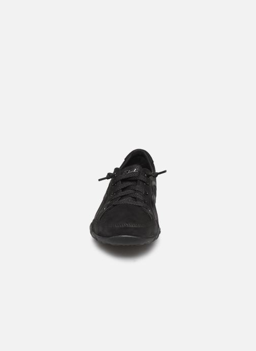 Sneakers Skechers Breathe-Easy Well Read Nero modello indossato