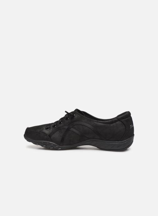 Sneakers Skechers Breathe-Easy Well Read Nero immagine frontale