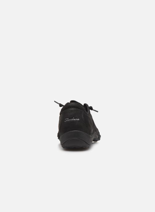 Sneakers Skechers Breathe-Easy Well Read Nero immagine destra