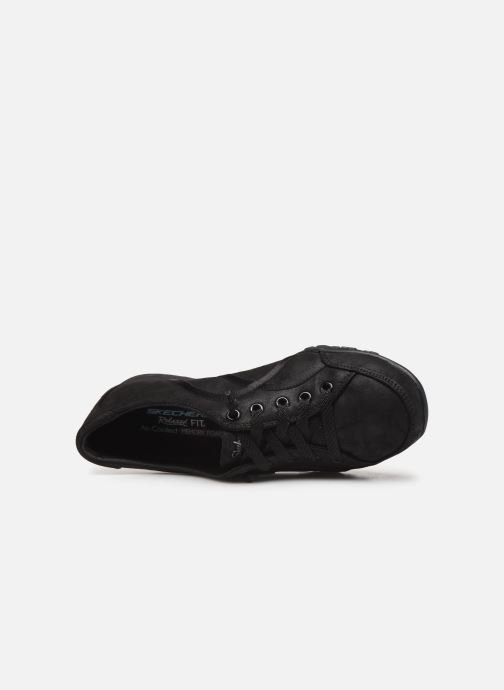 Baskets Skechers Breathe-Easy Well Read Noir vue gauche