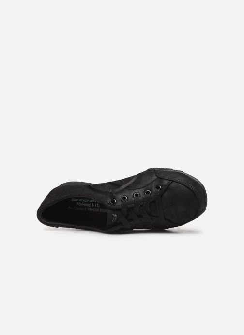 Sneakers Skechers Breathe-Easy Well Read Nero immagine sinistra