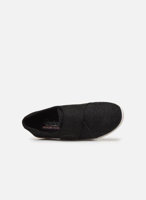 Baskets Skechers Madison Avenue Distinctively Noir vue gauche