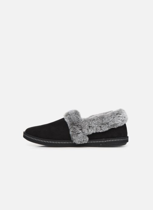 Slippers Skechers Cozy Campfire Black front view
