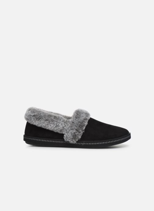 Slippers Skechers Cozy Campfire Black back view