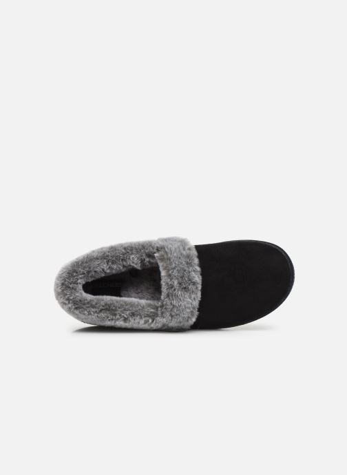 Slippers Skechers Cozy Campfire Black view from the left