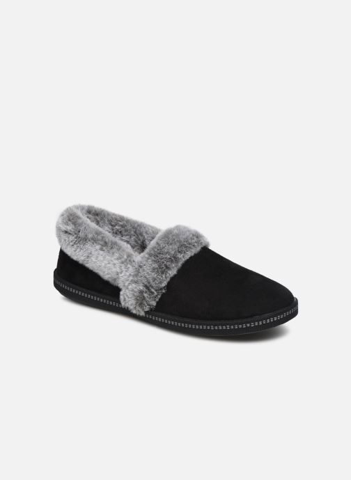 Slippers Skechers Cozy Campfire Black detailed view/ Pair view