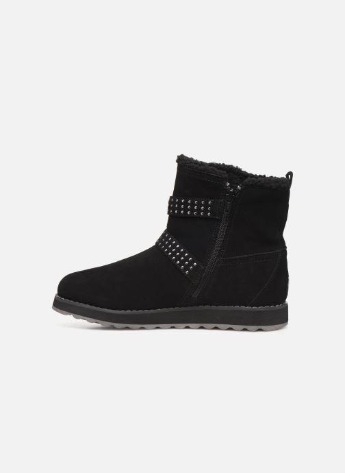 Boots en enkellaarsjes Skechers Keepsakes 2.0 Stud Queen Zwart voorkant